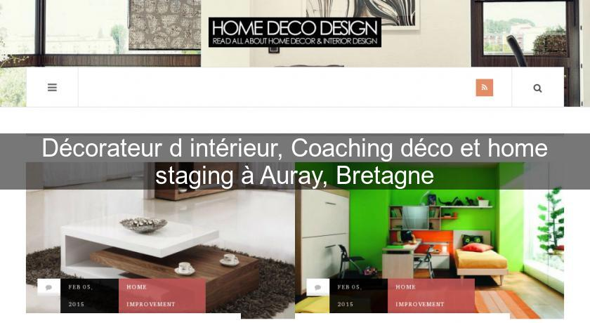 D corateur d 39 int rieur coaching d co et home staging for Decorateur interieur home staging