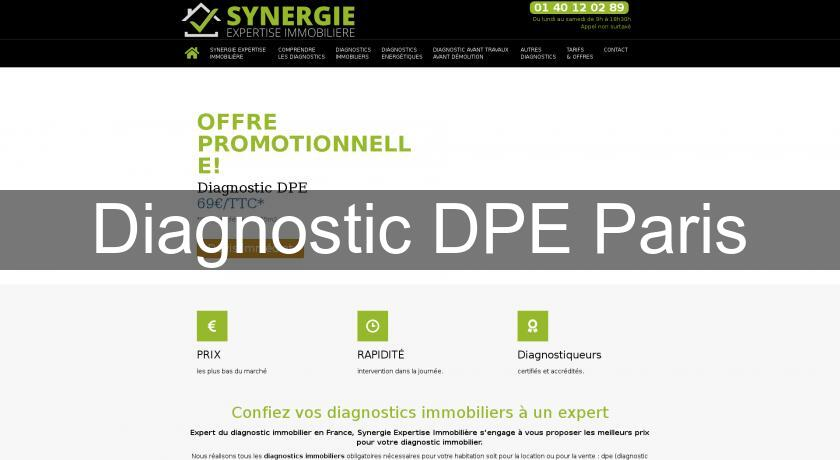 Diagnostic DPE Paris