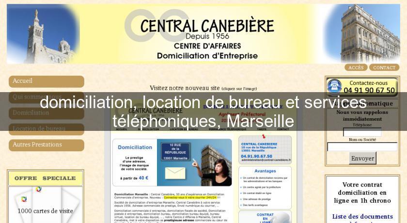 Domiciliation Location De Bureau Et Services Telephoniques Marseille Provence Alpes Cote DAzur