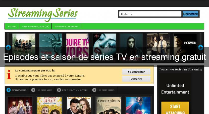 episodes et saison de s ries tv en streaming gratuit s rie tv. Black Bedroom Furniture Sets. Home Design Ideas