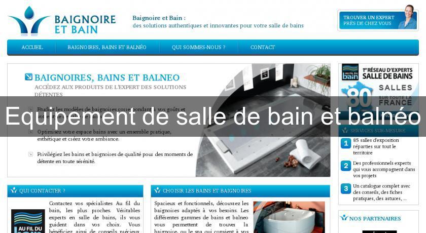 Equipement De Salle Bain Et Balneo Baignoire