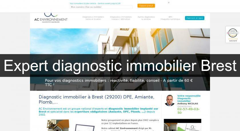 Expert diagnostic immobilier Brest