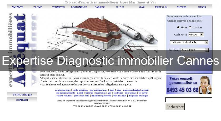 Expertise Diagnostic immobilier Cannes