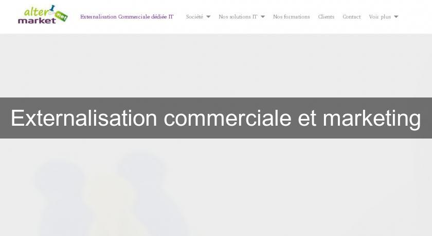 Externalisation commerciale et marketing