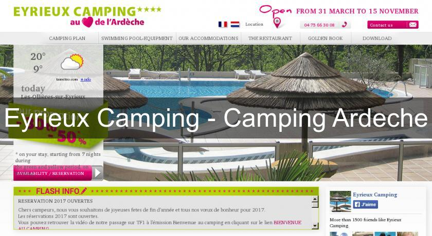 Eyrieux Camping - Camping Ardeche