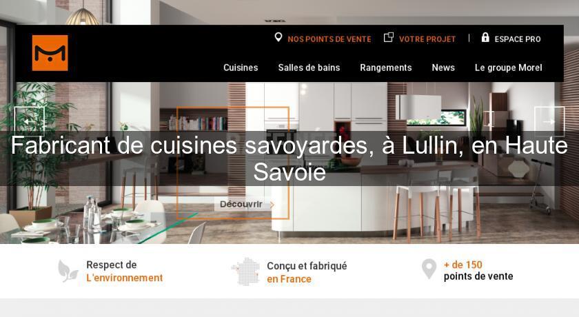 fabricant de cuisines savoyardes lullin en haute savoie cuisine quip e. Black Bedroom Furniture Sets. Home Design Ideas