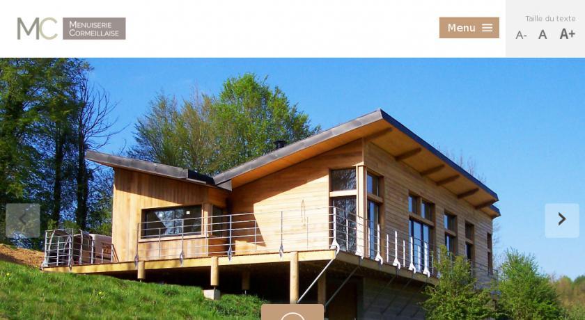 maison bois 27