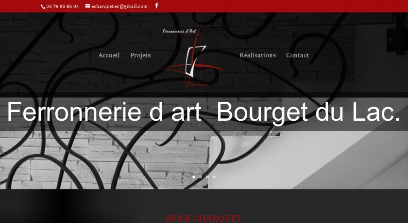 Ferronnerie d 39 art bourget du lac objet d coration for Ferronnerie jardin decoration