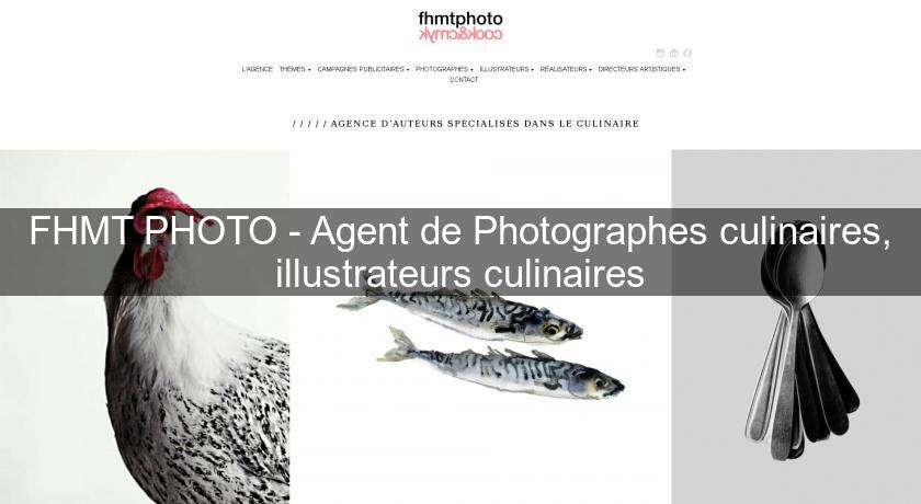 FHMT PHOTO - Agent de Photographes culinaires, illustrateurs culinaires