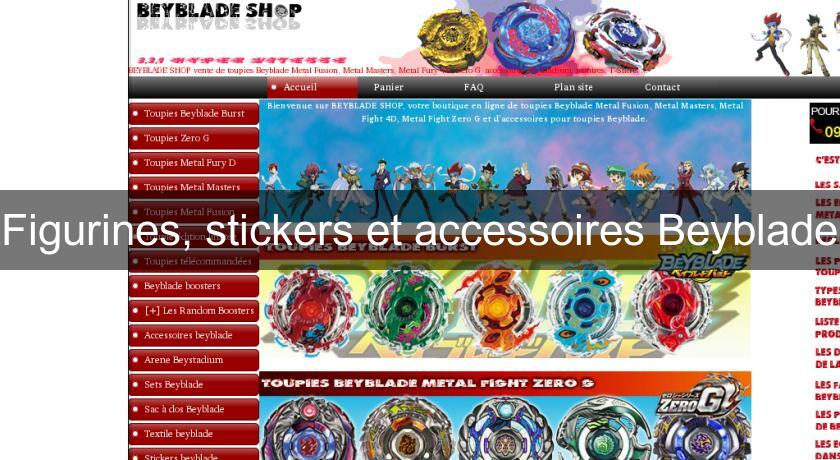Figurines, stickers et accessoires Beyblade