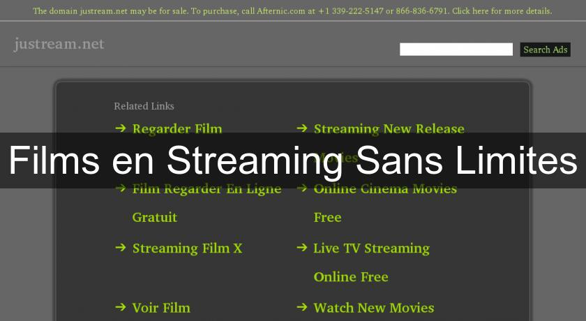 Films en Streaming Sans Limites