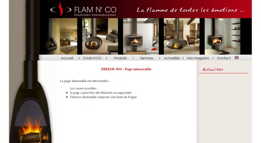 Flamnco, fabricant cheminée, insert