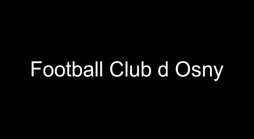 Football Club d'Osny
