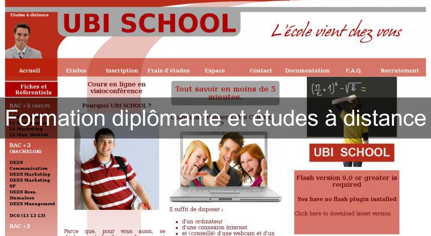 formation a distance diplomante