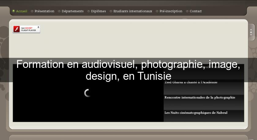 Formation En Audiovisuel Photographie Image Design En