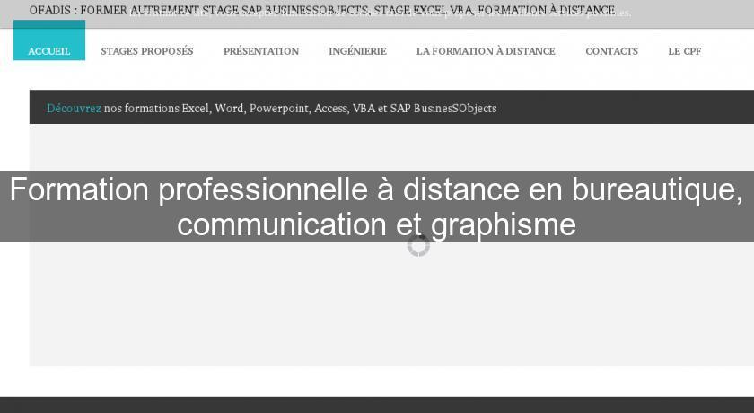 Formation professionnelle distance en bureautique communication et graphisme formation - Formation cuisine a distance ...
