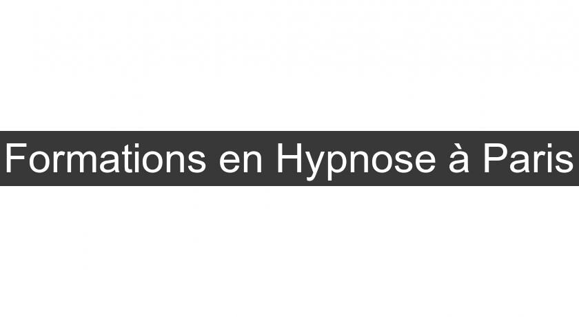Formations en Hypnose à Paris