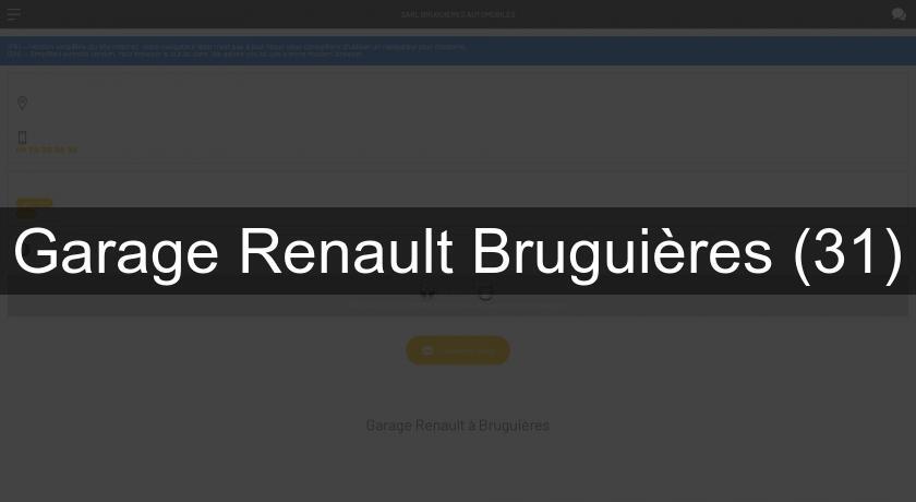 Garage renault brugui res 31 concessionnaire for Tarif horaire garage renault