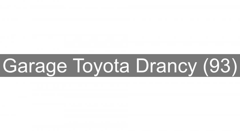 Garage toyota drancy 93 concessionnaire for Garage toyota angers