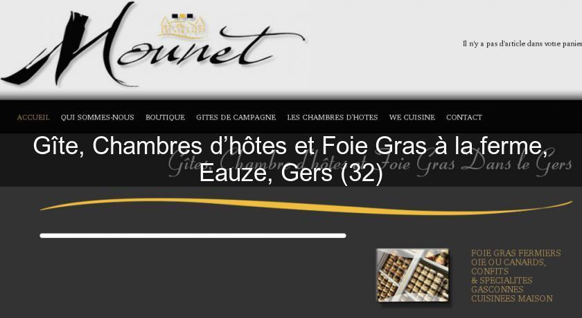 g te chambres d h tes et foie gras la ferme eauze gers 32 s jour g tes. Black Bedroom Furniture Sets. Home Design Ideas