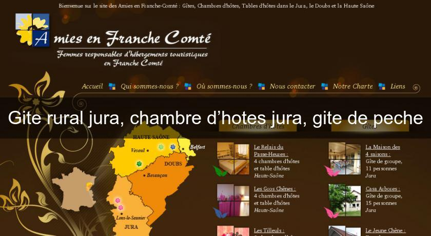 Gite rural jura chambre d hotes jura gite de peche guide for Jura chambre d hotes