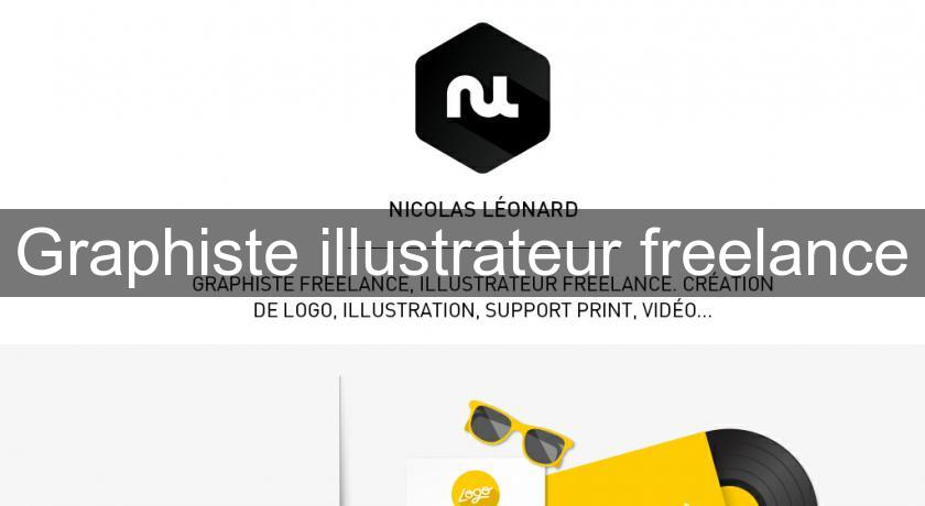 Graphiste illustrateur freelance
