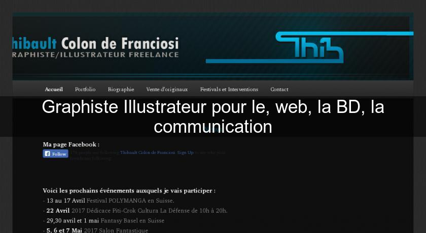 Graphiste Illustrateur pour le, web, la BD, la communication