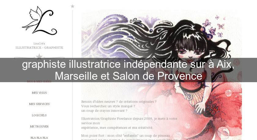 Graphiste illustratrice ind pendante sur aix marseille - Marseille salon de provence ...