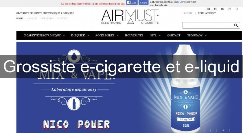 grossiste e cigarette