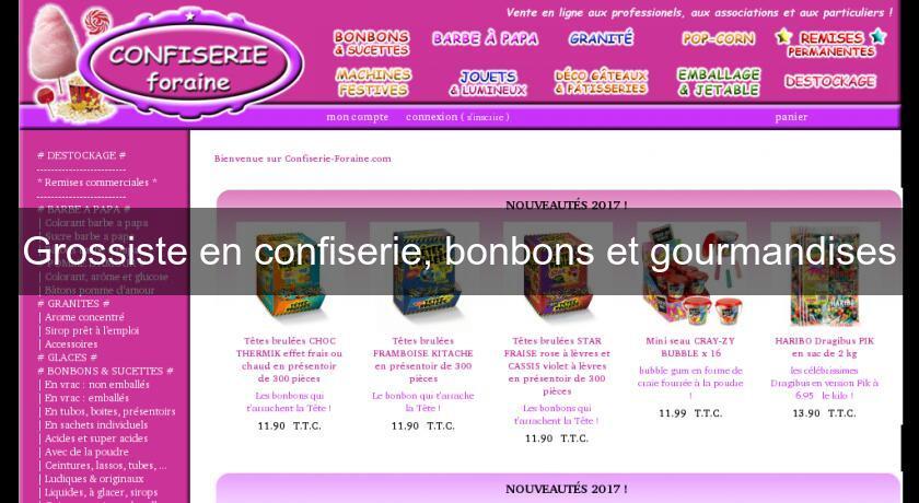 Grossiste En Confiserie Bonbons Et Gourmandises