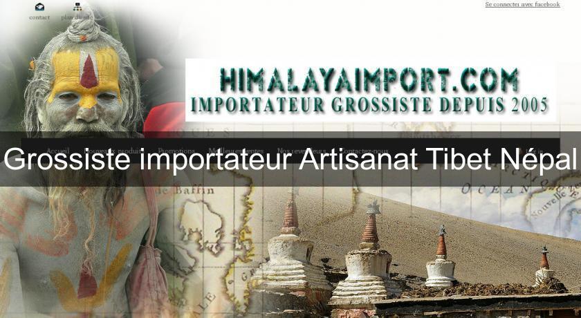 grossiste importateur artisanat tibet n pal textile soie