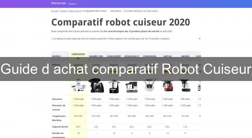 guide d 39 achat comparatif robot cuiseur accessoire. Black Bedroom Furniture Sets. Home Design Ideas