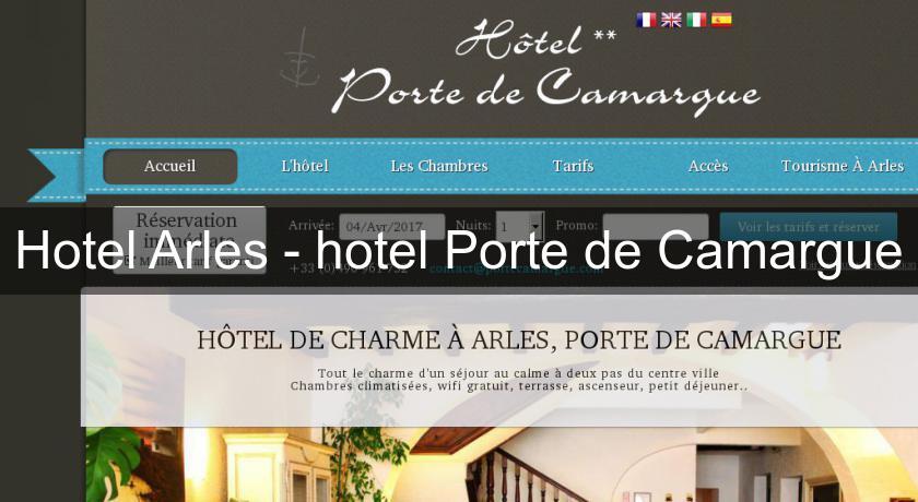 Hotel arles hotel porte de camargue h tel paca - Hotel porte de camargue arles provence ...