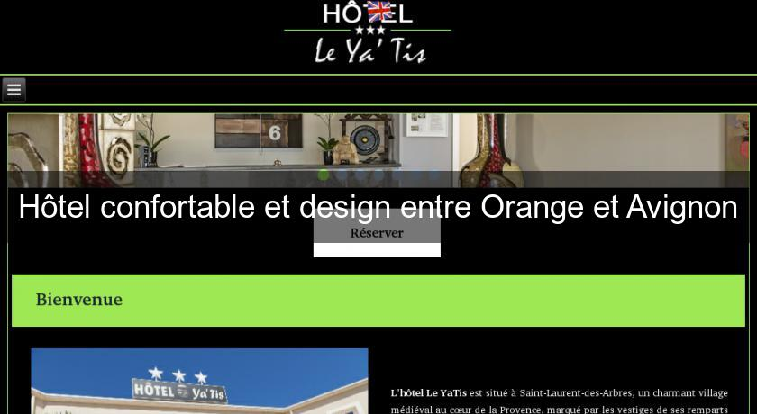 Hôtel confortable et design entre Orange et Avignon