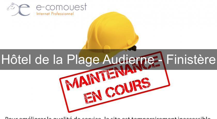 Hotel La Plage Audierne