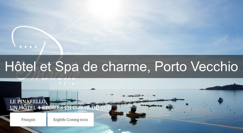 H tel et spa de charme porto vecchio h tel paca for Hotel de charme paca