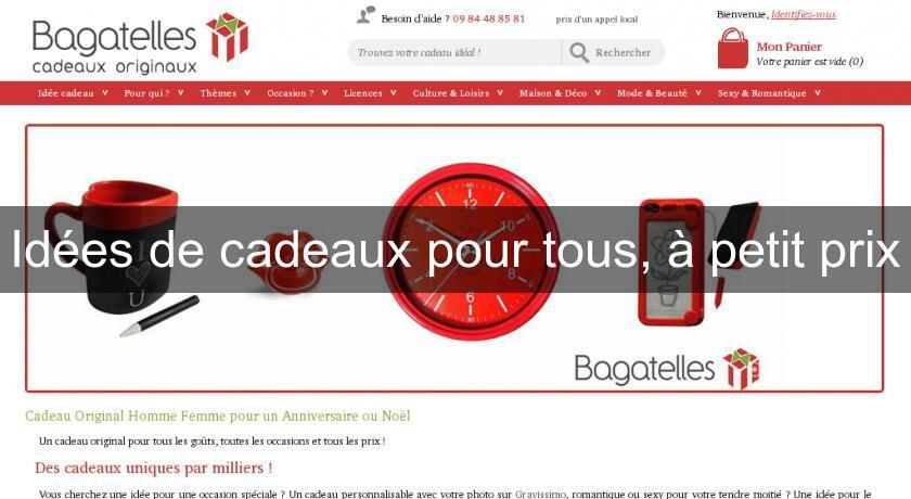 Idee Cadeau Petit Prix.Idees De Cadeaux Pour Tous A Petit Prix Bons Plans
