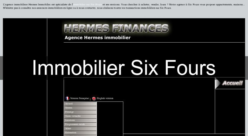 Immobilier Six Fours