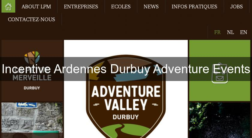 Incentive Ardennes Durbuy Adventure Events