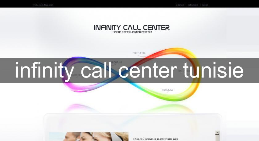 infinity call center tunisie