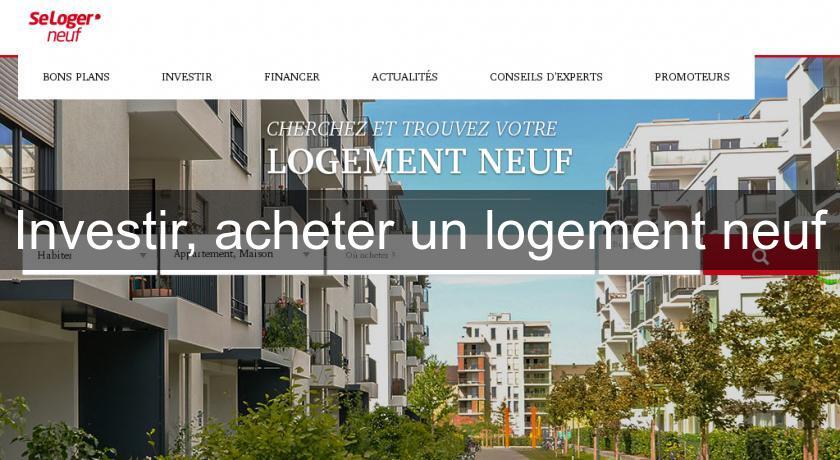 investir acheter un logement neuf paris. Black Bedroom Furniture Sets. Home Design Ideas
