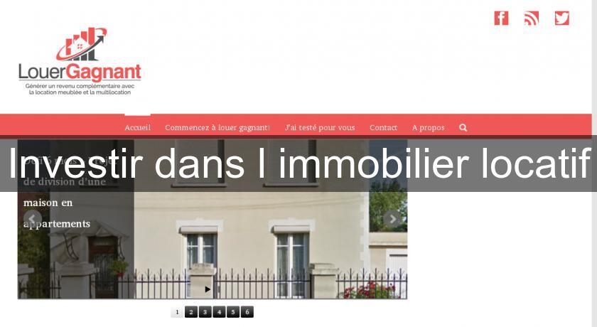 investir dans l'immobilier blog