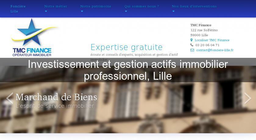 investir immobilier professionnel