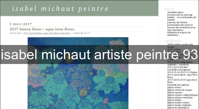 isabel michaut artiste peintre 93