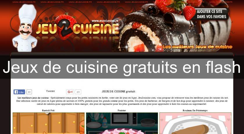 Jeux De Cuisine Gratuits En Flash Flash Java