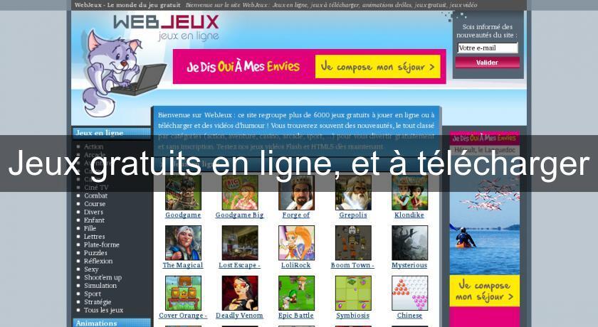 Jeux gratuits en ligne et t l charger flash java - Telecharger jeux de cuisine gratuit ...