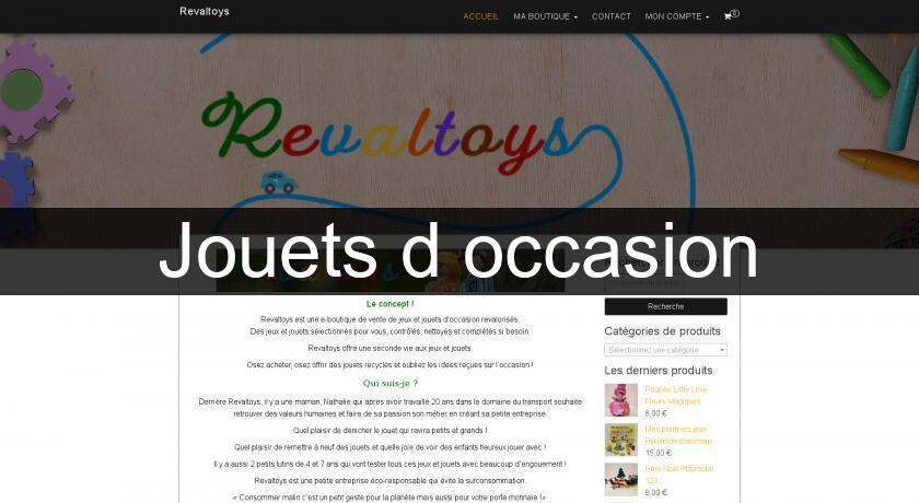 Jouets d'occasion