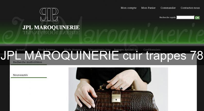 JPL MAROQUINERIE cuir trappes 78