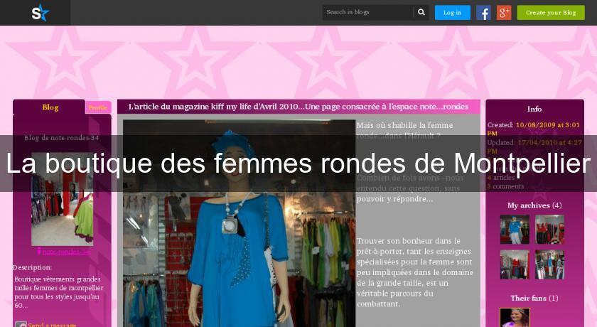 7c4ab69344c7f9 La boutique des femmes rondes de Montpellier Vetement Grande Taille