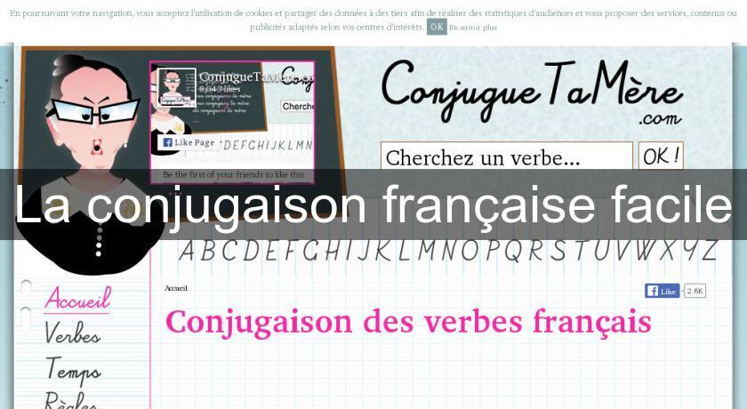La Conjugaison Francaise Facile Cours De Langues